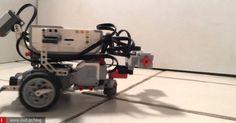 LegoRobot λειτουργεί με το μυαλό ενός σκουληκιού