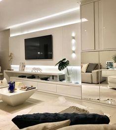 Iluminação indireta relançando ainda mais o belo painel de Tv. Amei! @pontodecor Via @maisdecor_ www.homeidea.com.br Face: /homeidea Pinterest: Home Idea #homeidea #arquitetura #ambiente #archdecor #paineltv #projeto #homestyle #home #homedecor #pontodecor #homedesign #photooftheday #interiordesign #interiores #picoftheday #decoration #revestimento #decoracao #architecture #iluminacaoindireta #inspiration #project #regram #home #casa #grupodecordigital