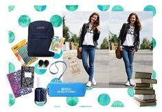 """""""How will you be kickin' it back to school style?"""" by collegelifestyles ❤ liked on Polyvore"""