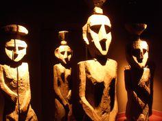 Mapuche Totems (Chile)