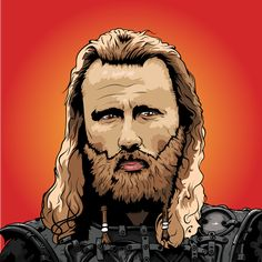digital portrait done in adobe illustrator #digitalart #portrtait #digitalportrait #adobe #adobeillustrator #illustration #vikings #hbonordic #hbo #series #actor #vikingillustration #beard #armour #colors #art #inking #norwegian #norway #boldart #bold