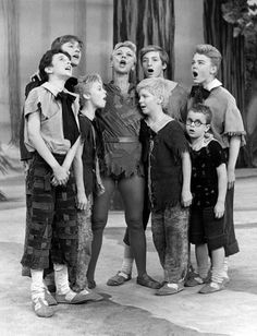 Mary Martin as Peter Pan with the Lost Boys News Photo 488454379 | Getty Images