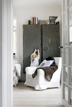 industrial chic/ rustic renaissance is totally our style
