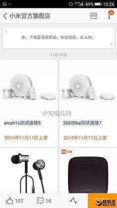 Novedad: Se filtran detalles de un Xiaomi Mi Powerbank de 20.000 mAh
