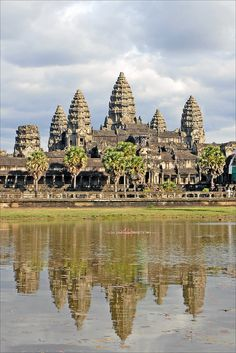Angkor Wat in Siem Reap, Cambodia - To do in Fall 2016