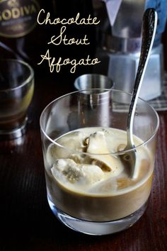 Chocolate Stout Affogato | 23 Ways To Eat Nothing But Chocolate For The Holidays