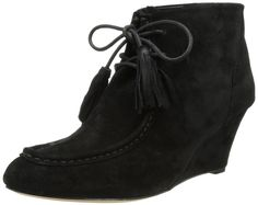 Rebecca Minkoff Women's Mia Wedge Bootie -- Check out this great image  : Boots Shoes