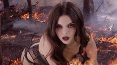 Kendall Jenner Is Literally on Fire in the New Love Advent Video  - Cosmopolitan.com