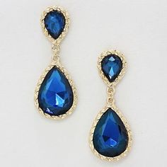 Gold Base with Sapphire Stones