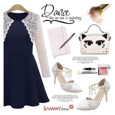 """SD"" by helenevlacho ❤ liked on Polyvore featuring Bobbi Brown Cosmetics, Kate Spade, ICE London and sammydress"