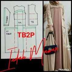 Long Dress Patterns, Dress Sewing Patterns, Clothing Patterns, Abaya Fashion, Muslim Fashion, Fashion Outfits, Muslim Dress, Dress Muslim Modern, Hijab Style Dress