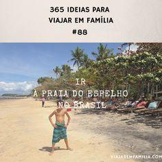 Ir à praia do Espelho no Brasil