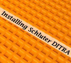 Inspirational Tile Floor Underlayment Ditra