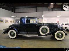 1930 Cadillac V16 452 Fleetwood Coupe