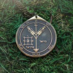 Goetia Fourth Pentacle of Jupiter Solomon kabbalah amulet