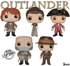 Outlander Pop! Vinyl Figures, by FunKo -- [Available http://www.amazon.com/s/ref=nb_sb_noss_2?url=search-alias%3Dtoys-and-games&field-keywords=funko+pop+outlander&rh=n%3A165793011%2Ck%3Afunko+pop+outlander]