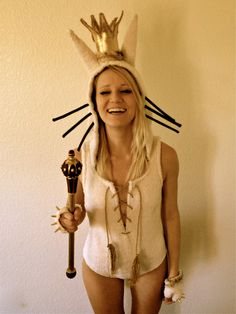 Where The Wild Things Are Max Costume. $200.00, via Etsy.