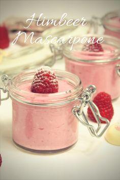 Raspberry Mascarpone delicious not only on Valentine's Day Ice Cream Desserts, Apple Desserts, Mini Desserts, Summer Desserts, Christmas Desserts, Delicious Desserts, Valentines Day Dinner, Valentines Day Desserts, Desserts Valentinstag