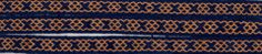Osegberg-Mammen. The pattern is made by Torben Dibber who made it from a textile from Oseberg, it was there embroided, but since the pattern are so similar to the wollen band from Mammen, it was an obvios task to make it as a tabletwoaven piece. Tablet woven by Irene Lyng