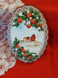 Gingerbread,keepsake, decorated cookies cookie art