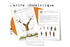 DDM CP CE1 Le temps : L'arbre généalogique