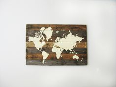 Pallet World Map | The Merrythought