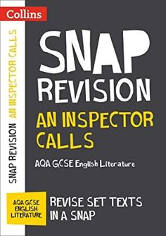 From An Inspector Calls: Aqa Gcse English Literature Text Guide (collins Gcse Snap Revision) Frankenstein, Got Books, Books To Read, Snap Text, Gcse English Literature, English Writing, Inspector Calls, Jekyll And Mr Hyde, Literatura