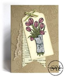 love is kindness tag card