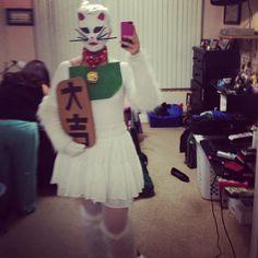Maneki Neko Halloween Costume