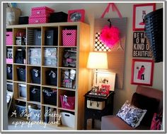 pink and black bedroom diy - Google Search