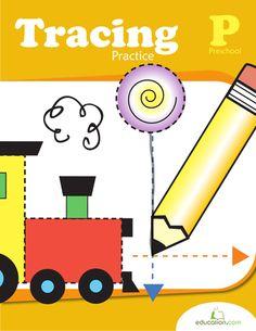 Tracing Diamonds | Worksheet | Education.com