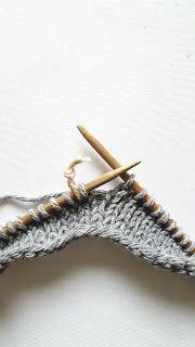 Elengiina: Ylhäältä alas neulottu paita + Helppo ohje Maybelline, Knitting Patterns, How To Make, Clothes, Diy, Wings, Outfits, Knit Patterns, Clothing
