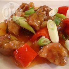 Schweinefleisch süß-sauer auf chinesische Art @ de.allrecipes.com