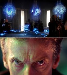 The 13 Doctors unite.  So. Before 12 even makes his appearance, they in one stroke (pun intended) deny us our Doctor Clock!