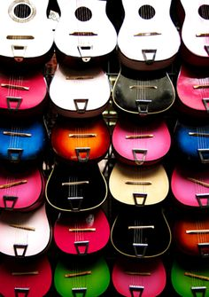 Guitar galore.