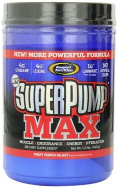 Gaspari Nutrition Super Pump Max Fruit Punch 141Pounds >>> Read more reviews of the product by visiting the link on the image.
