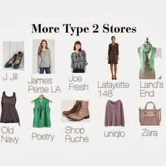 Stores for Type 2 ~ expressing your truth closet