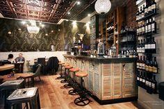 Restaurante La Clef d'Or, Niza. Por el arquitecto Steve Baldini en colaboración con Sophie Imbert.