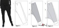 Newest Photographs sewing pants harem Style Clothing design - design harem pants from a pants pattern - Sewing For A Living Sewing Pants, Sewing Clothes, Sewing Coat, Diy Clothing, Barbie Clothes, Dress Sewing Patterns, Pattern Sewing, Shirt Patterns, Coat Patterns