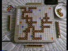 1990 Scrabble Commercial