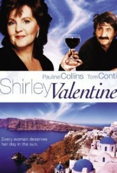 Directed by Lewis Gilbert. With Pauline Collins, Tom Conti, Julia… Valentines Movies, Valentine Poster, Mykonos, Pauline Collins, Shirley Valentine, Bored Housewives, Where Have You Gone, Greece Vacation, Films