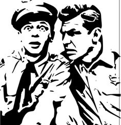 Andy Griffith stencil