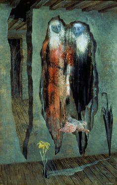 Les-Murés-1958 by Remedios Varo