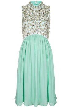 Topshop Limited Edition Dress - Love this colour. Turquoise/Mint Green #TopshopPromQueen