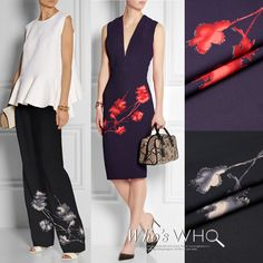 Pure Mulberry Silk Digital Printed Silk Dress by AnnyFabrics