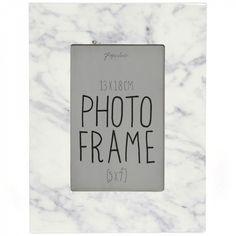Marble photo frame 5x7