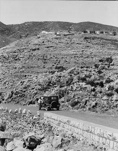 Meron and tomb of Shimon Bar Yochai  (circa 1930,  Library of Congress)