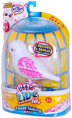 Buy Little Live Pets Bird Series 3 - Sweet Harmony Online at Toy Universe