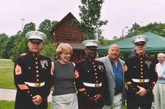 Chef Jim served his country as a Marine in 1981-83. Jim is still involved with his brothers at arms.