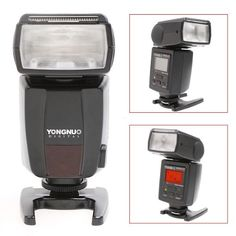 YongNuo YN-468 II E-TTL Speedlite With LCD Display, for Canon 50D 40D T1i Xsi XS